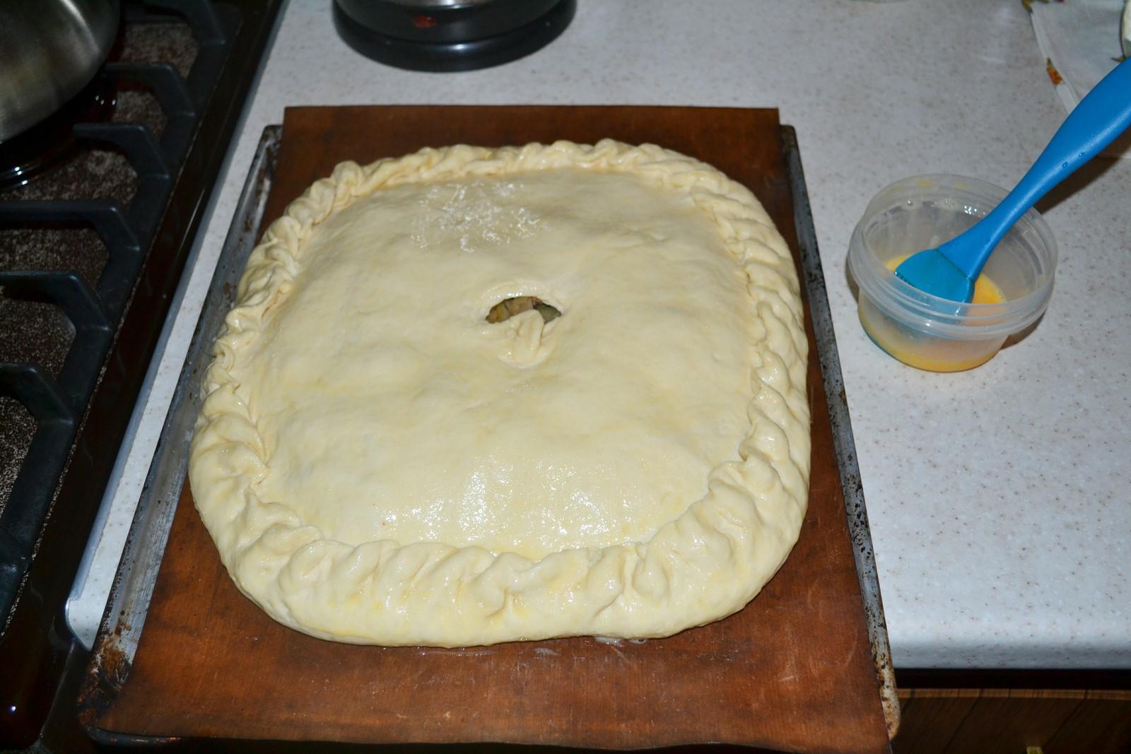 Капуста для пирога рецепт пошагово