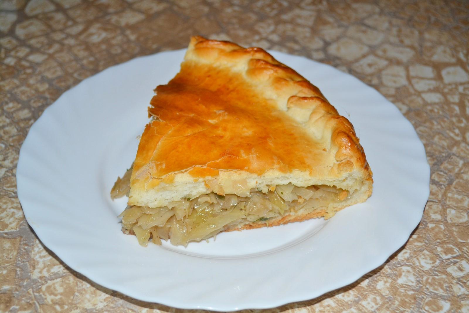 Как сделать пироги с капустой рецепт