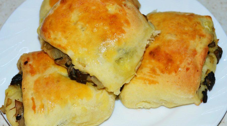Пирожки рулеты из картофельного теста