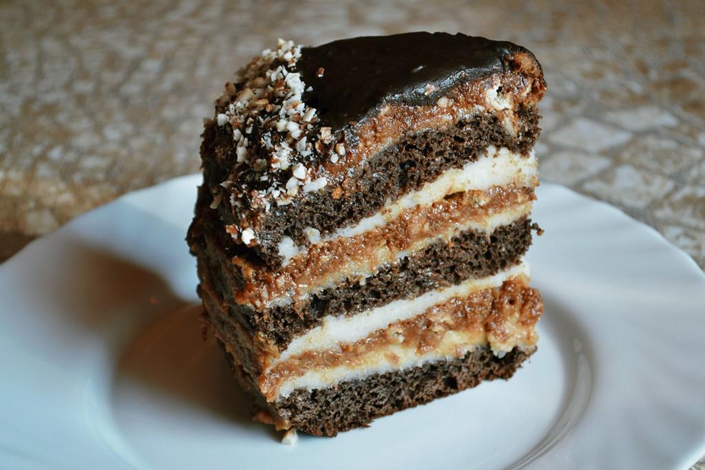 торт каро рецепт с фото сливочное